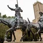 Madrid - Don Quixote Statue