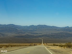 Panamint Valley Highway 190