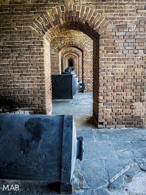 Fort Zachary Taylor Cannons 1