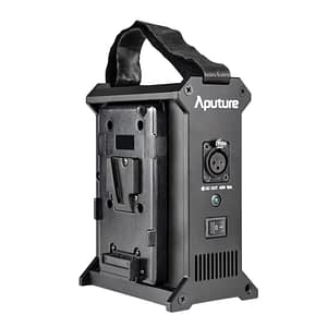 Aputure 2-Bay Power Station for Nova P300C V Lock