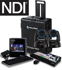TriCaster Mini Advanced PTZ Bundle Option 2