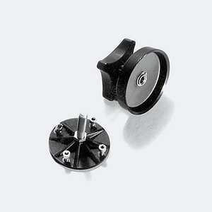 Adapter ball with screw