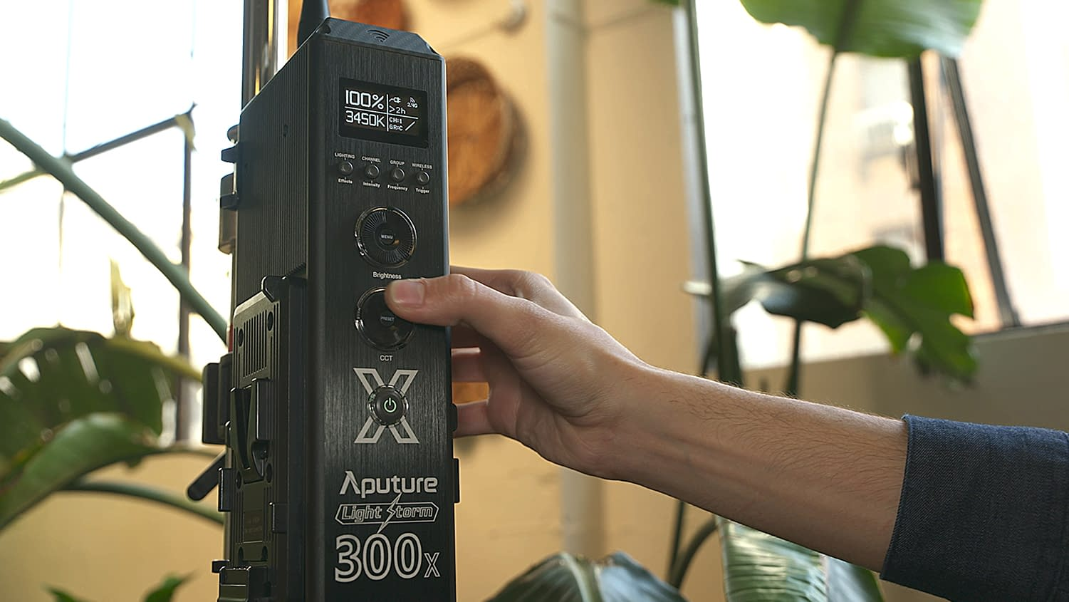 Aputure Light Storm 300X Controller