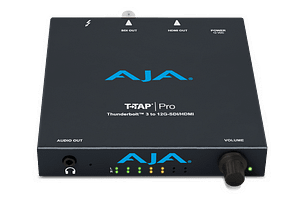 AJA T-TAP Pro Front Angle