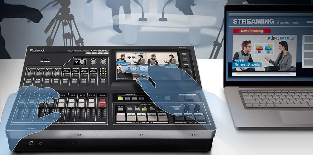 Roland Live Streaming Switchers