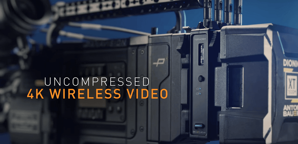 Teradek Bolt 4K Uncompressed Wireless