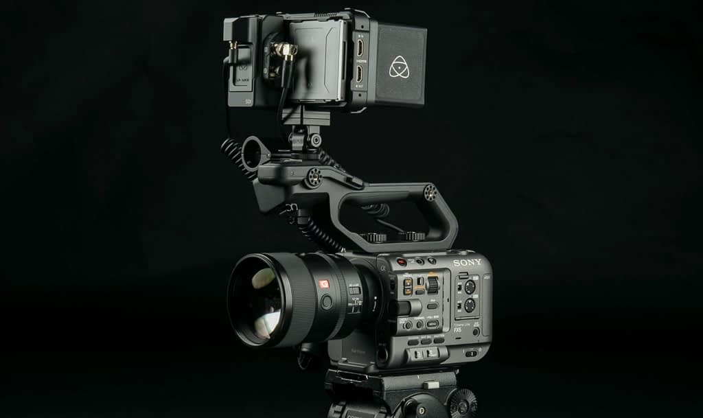 Ninja V Pro Kit on Sony FX6