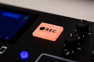 RODECaster Pro Record Button