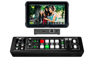 Roland V-1HD Streaming and Monitoring Bundle