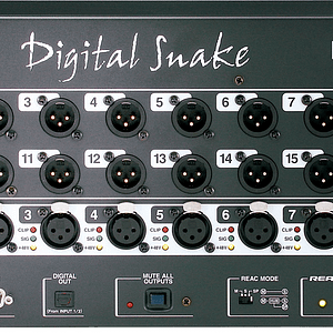Roland S-0816 Digital Snake Connections
