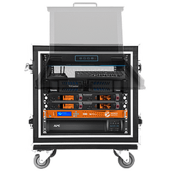 Social Media Live Production Rack Road Case Fly Away Kit