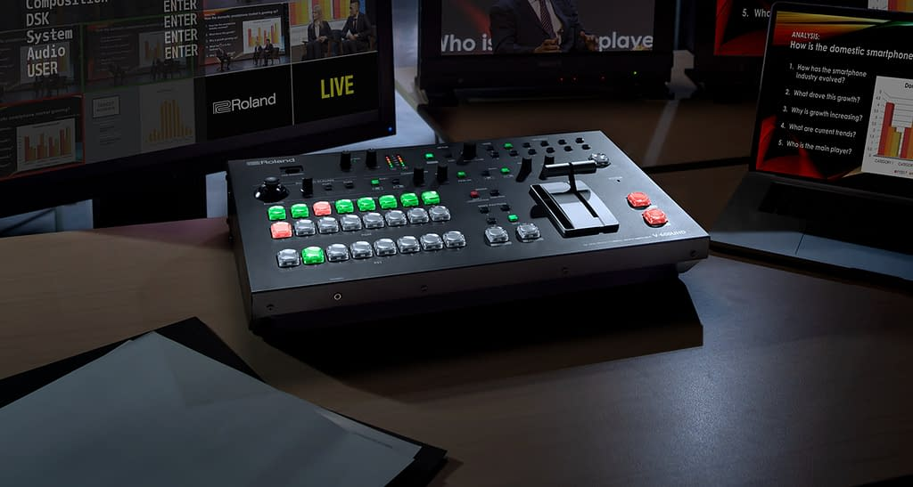 Roland V-600UHD Multi-format Video Switcher