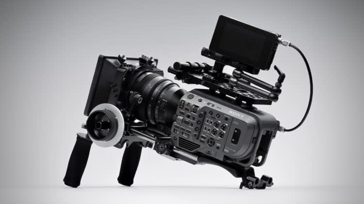 Sony PXW-FX9 and monitor