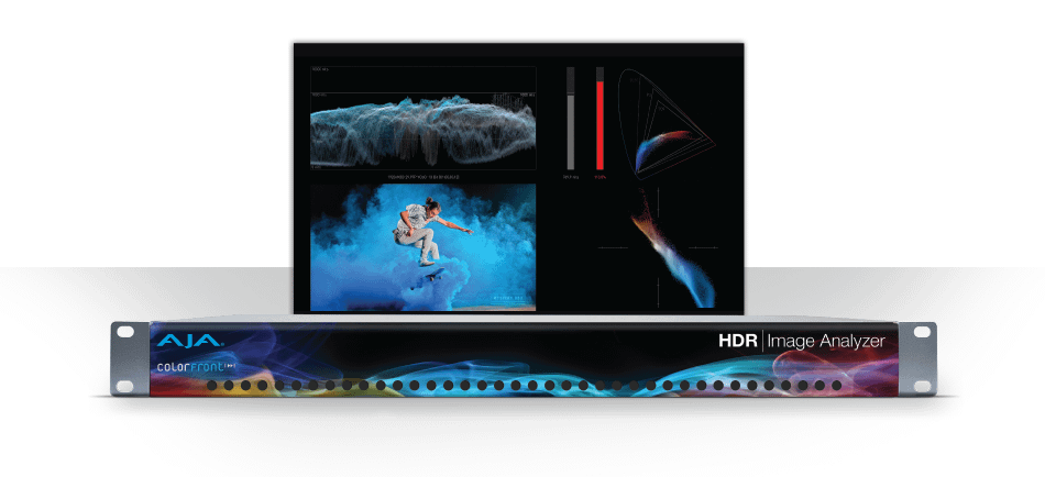 AJA HDR Image Analyzer with Colorfront