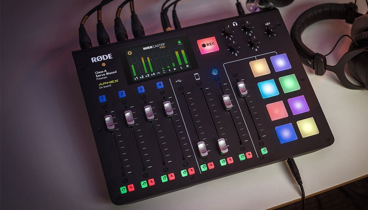 RØDE RØDECaster Pro Connected