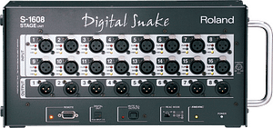 Roland S-1608 Digital Snake Connections