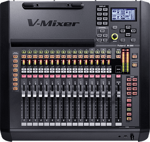 Roland M-200i Audio Mixer Top