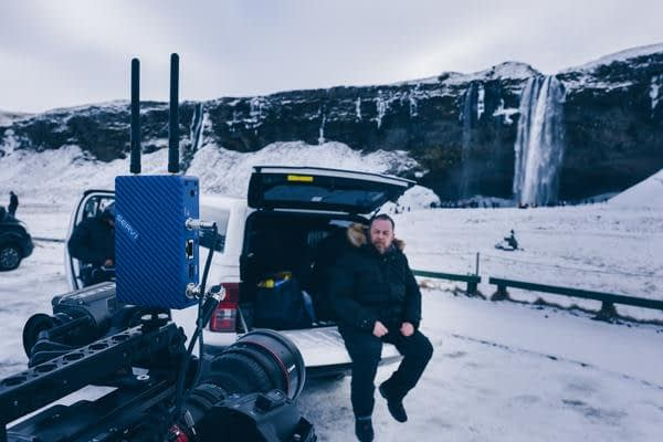 Serv Pro on Camera in Iceland