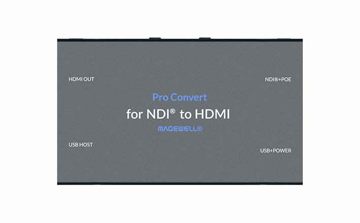 Magewell Pro Convert for NDI to HDMI Top