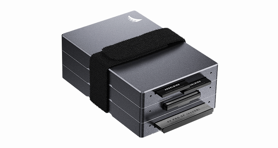 Angelbird Card Readers Stacked