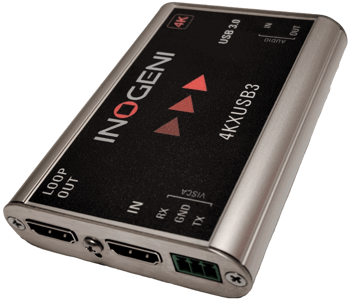 Inogeni 4K HDMI with Loop 4KX2USB3