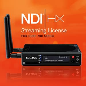 Teradek Cube 700 Series NDI Streaming License