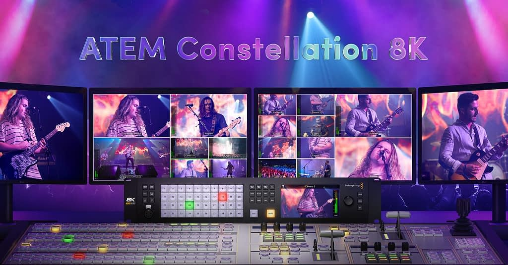 ATEM Constellation 8K and Panel