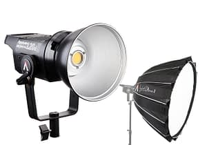 Aputure Light Storm LS C120d II and Light Dome II