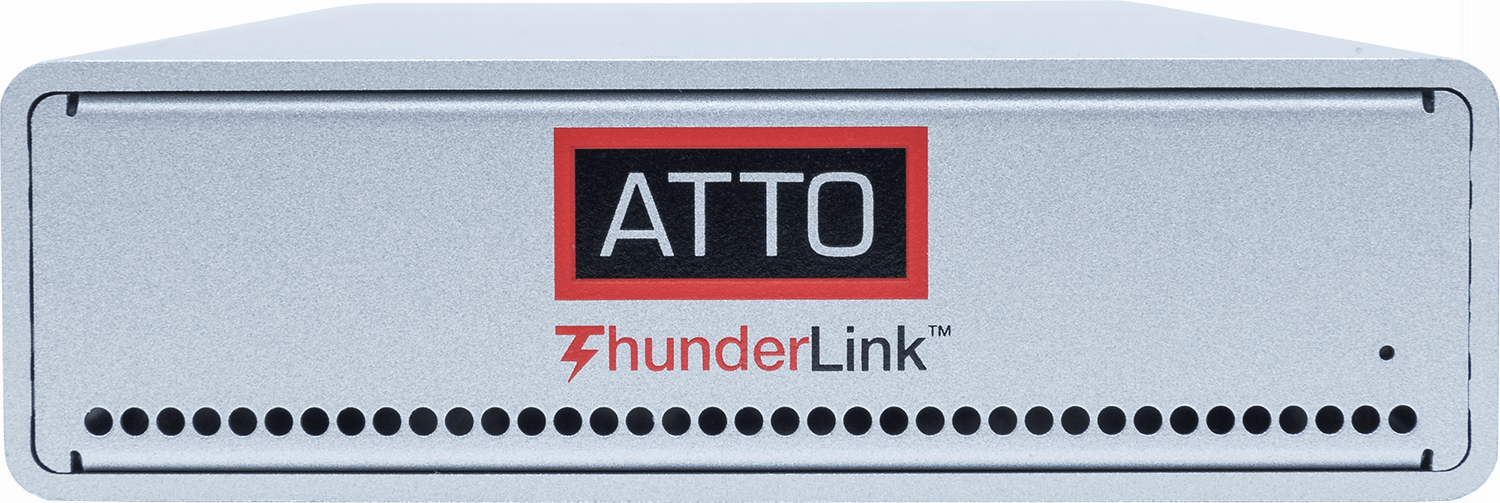 ATTO ThunderLink Front