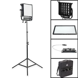 LP-945-1102 Gemini 1x1 Soft Pro Kit V-Mount