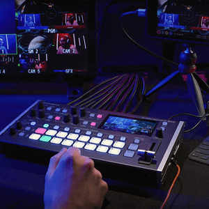 Roland V-8HD in Use