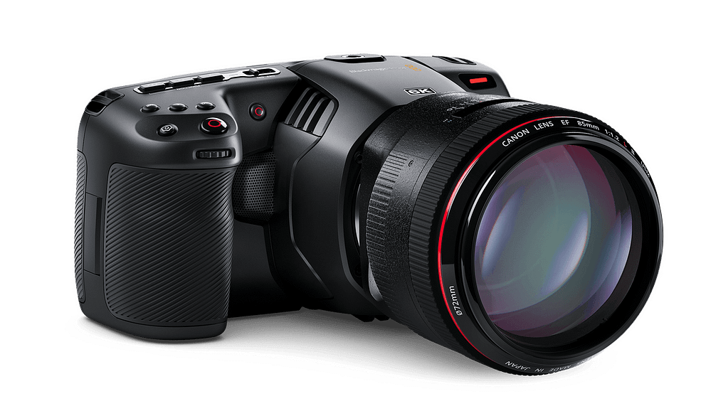 Blackmagic Pocket Cinema Camera 6K Side Angle