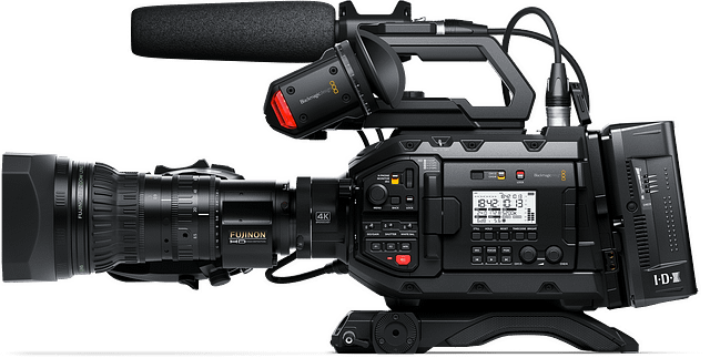 URSA Broadcast Profile with ENG Accesories