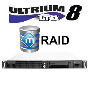 mRack DIT Thunderbolt 3 with mRaid and LTO8