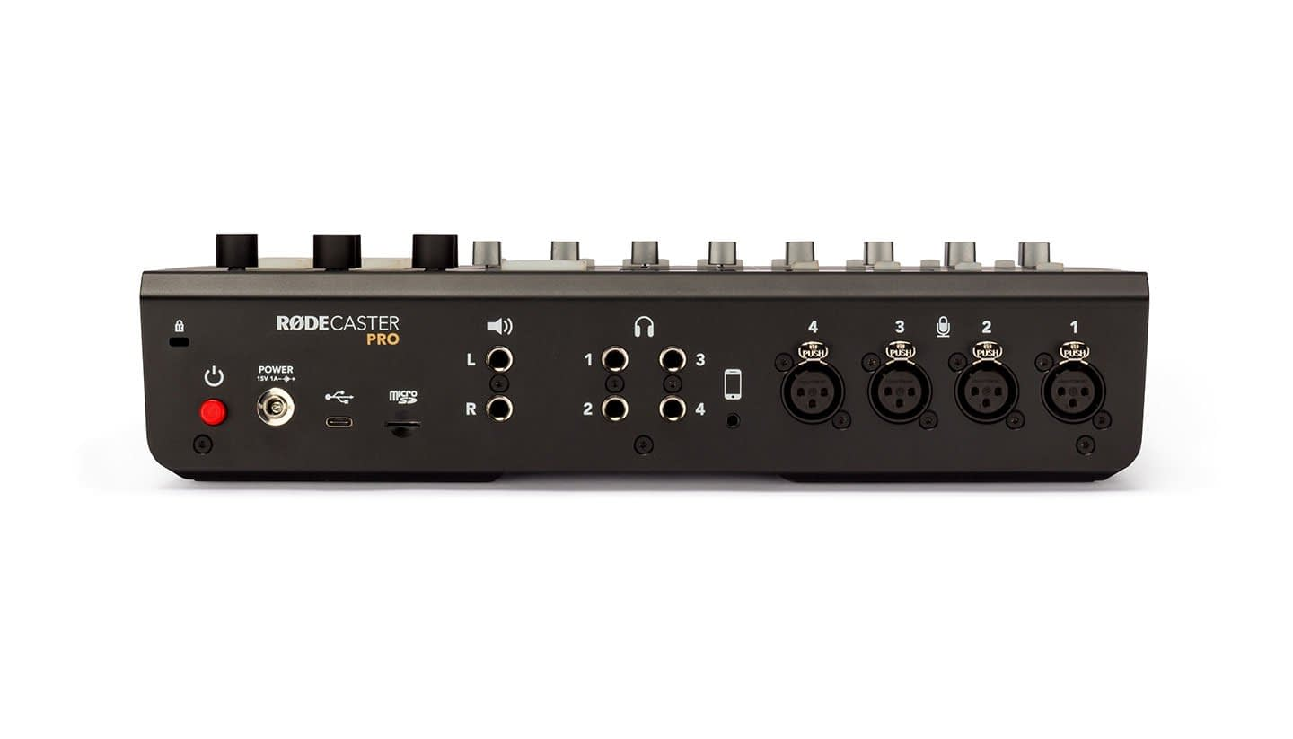 RØDE RØDECaster Pro Connections