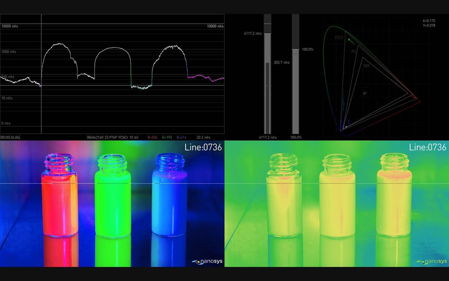 AJA HDR Image Analyzer 12G Extended Features