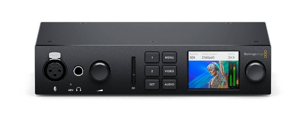Blackmagic UltraStudio 4K Mini Front Tilt