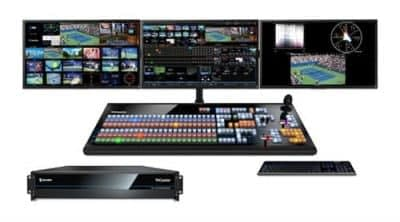 Newtek Tricaster TC1 System with Screens and Control Surface