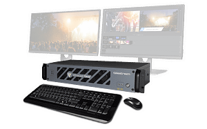 Wirecast Gear System no Monitors