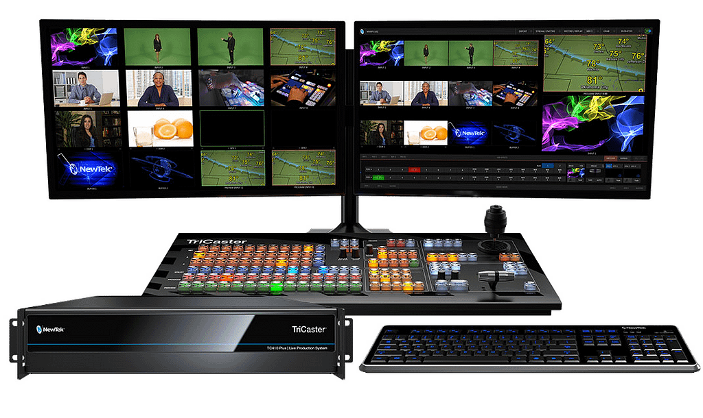 TC410 Plus Group with Monitors