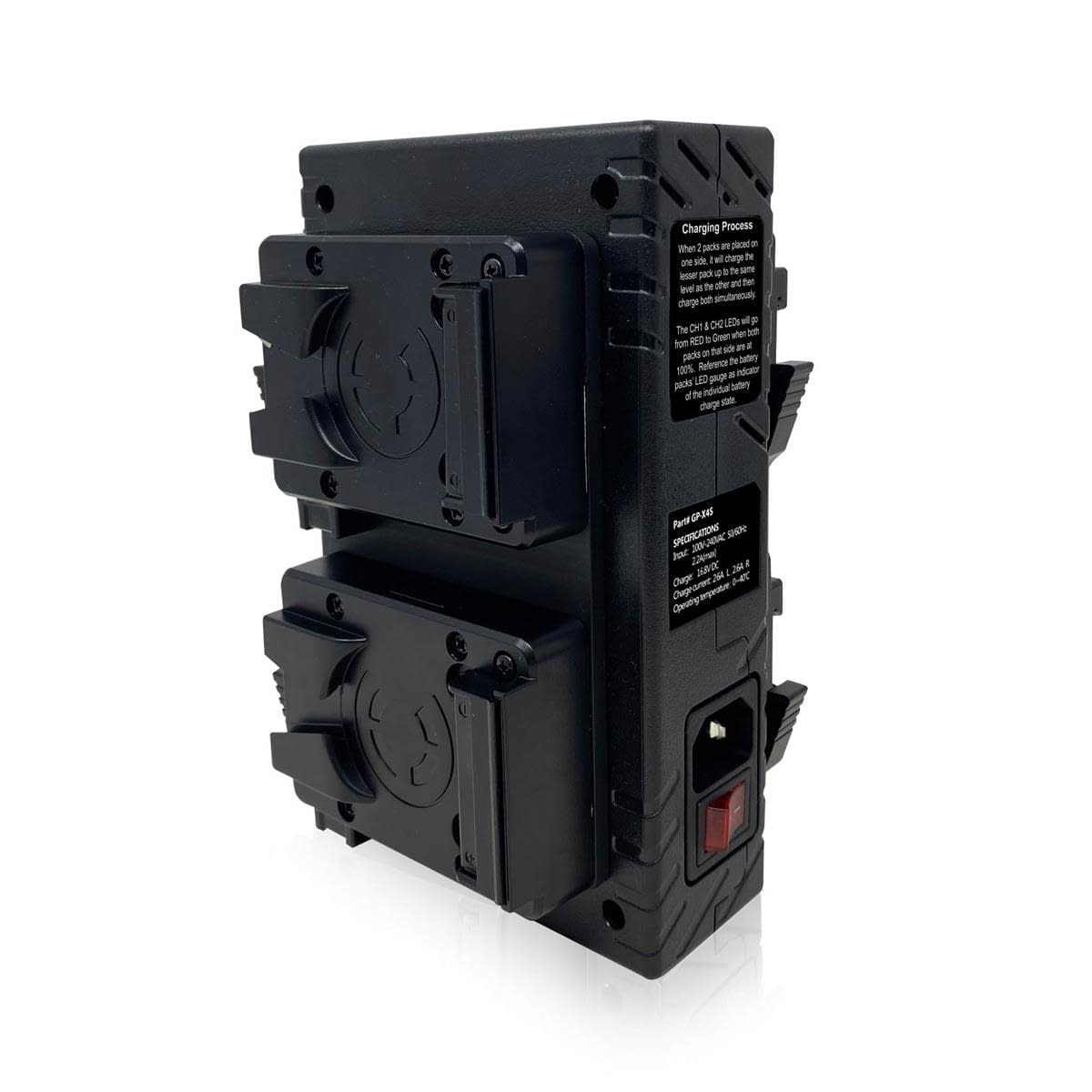 CORE SWX GP-X4S V-Mount Charger - Back
