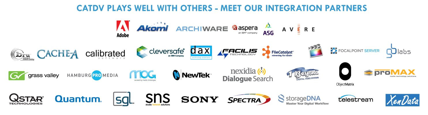 CatDV Partners and Integration