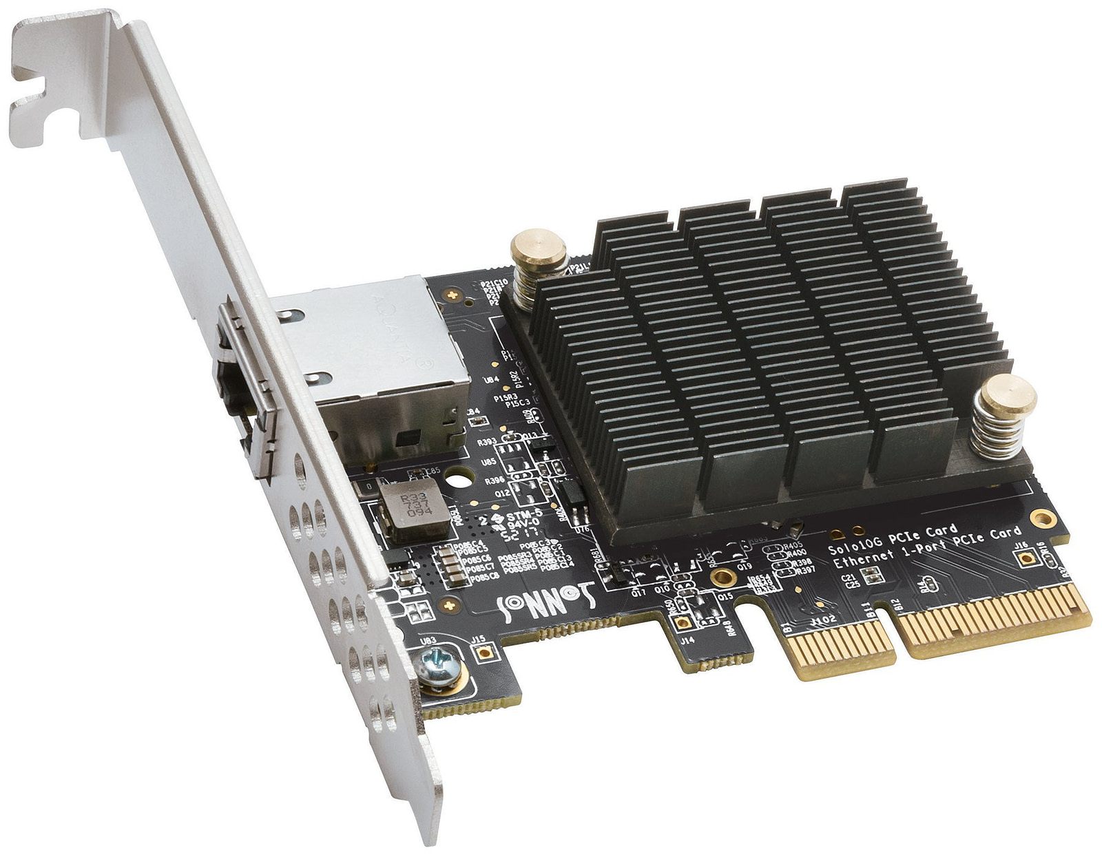 Sonnet Solo10G PCIe Adaptor 10GBASE-T Single Port