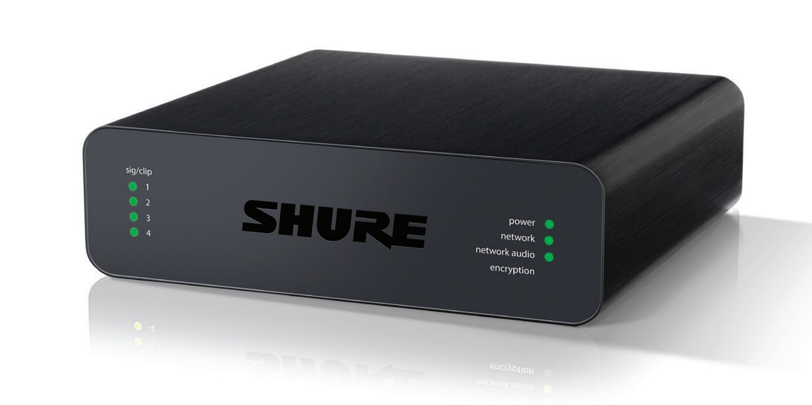Shure Audio Network Interface ANI - Front Angled