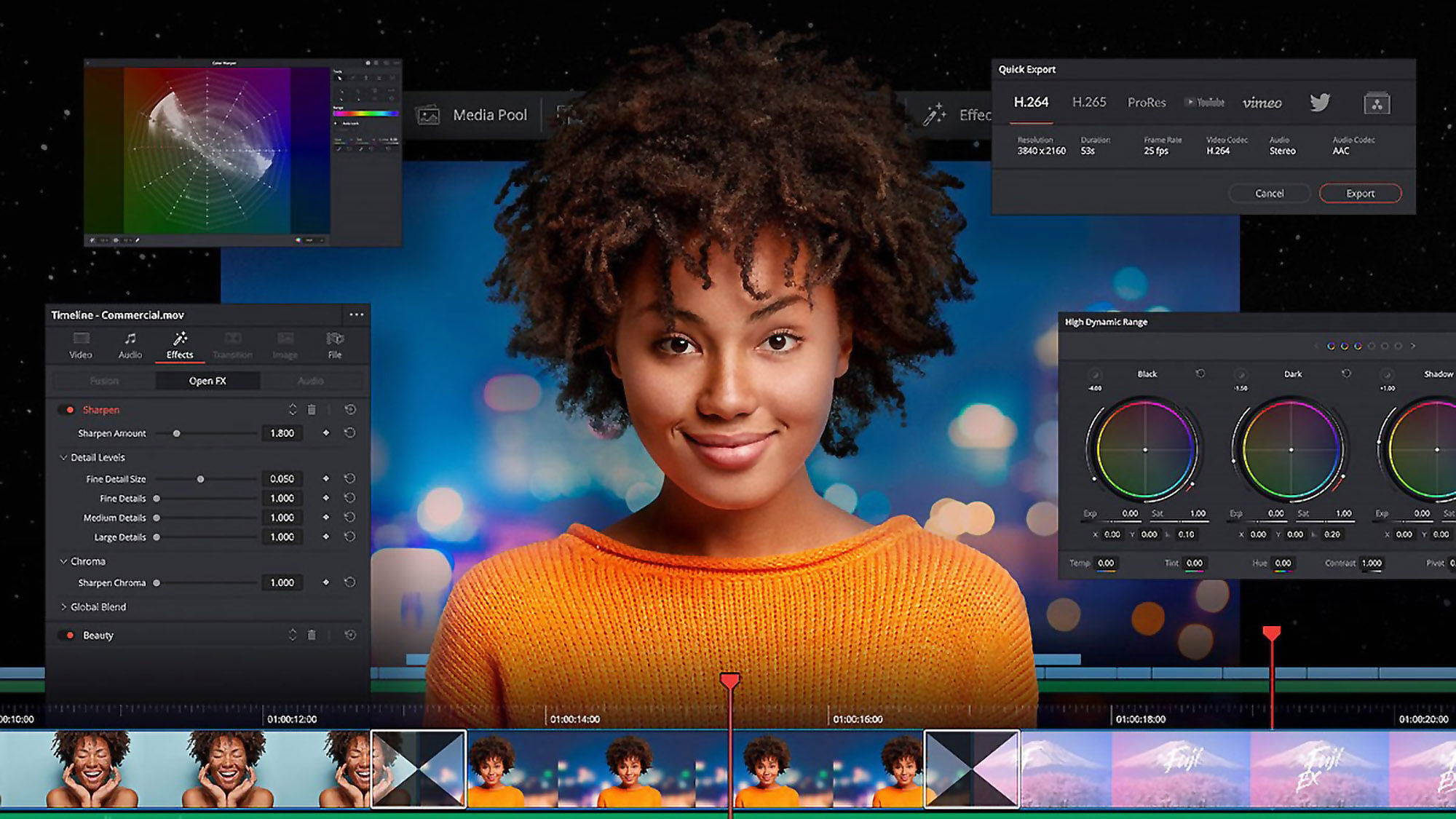 The Beginners Guide to DaVinci Resolve 17