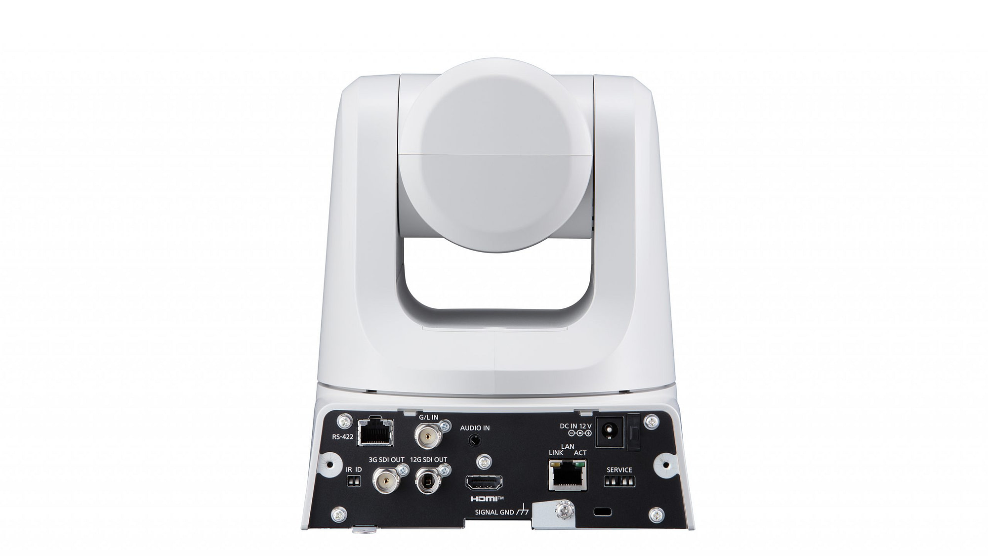 AW-UE100 White Rear Connections