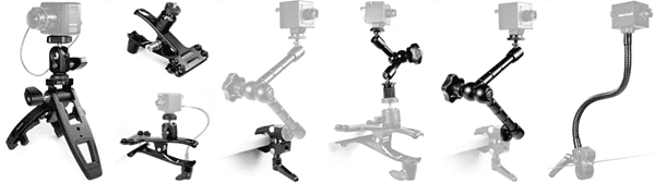"""1/4""""-20 Compact Camera Stands & Mount Solutions"""