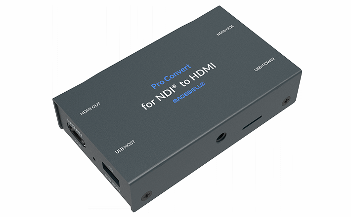 Magewell Pro Convert for NDI to HDMI